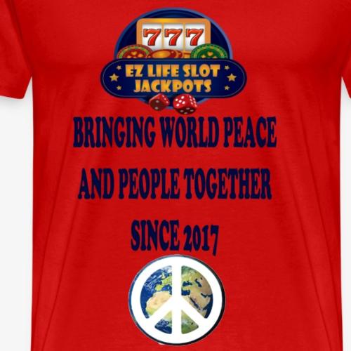 world peace - Men's Premium T-Shirt