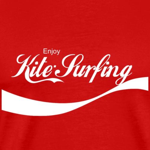 Enjoy Kite Surfing - Men's Premium T-Shirt