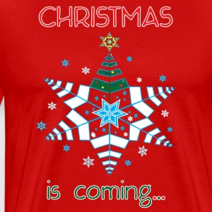 Christmas is Coming... - Men's Premium T-Shirt