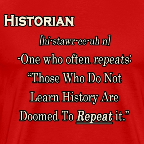 Historian Definition - Men's Premium T-Shirt