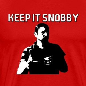 keep it snobby - Men's Premium T-Shirt