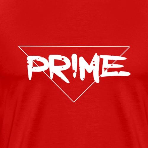 White Prime Logo - Men's Premium T-Shirt