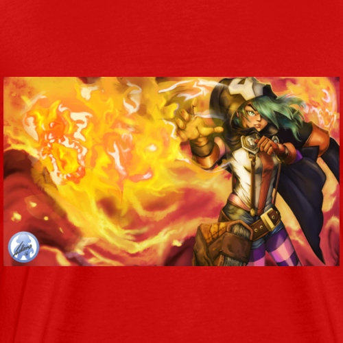 Fire Witch Etna - Men's Premium T-Shirt
