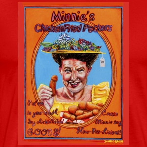 Minnie's Chicken Fried Peckers - Men's Premium T-Shirt