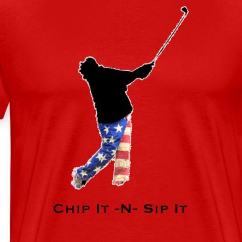 Chip It N Sip It - Men's Premium T-Shirt