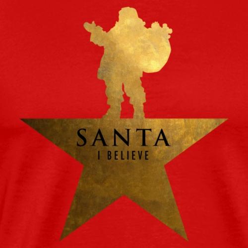 Santa Christmas Star Hamilton Parody - Men's Premium T-Shirt