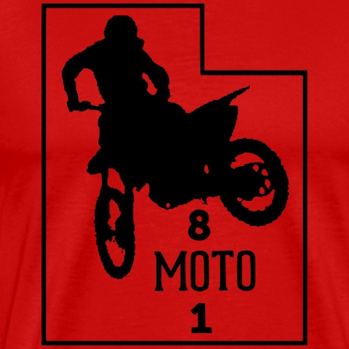 801 moto - Men's Premium T-Shirt