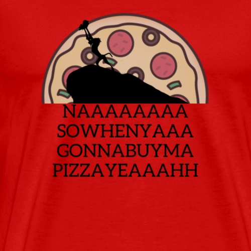 Pizza King - Men's Premium T-Shirt