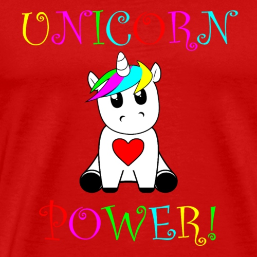 Unicorn Power! - Men's Premium T-Shirt