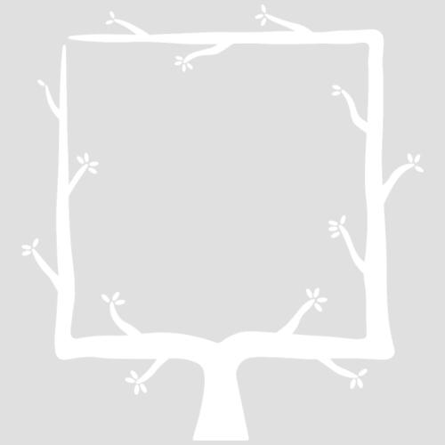 Geometree Square - White - Men's Premium T-Shirt