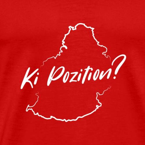 Ki Position? - White - Men's Premium T-Shirt