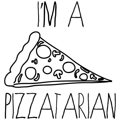 I'm a Pizzatarian - Men's Premium T-Shirt