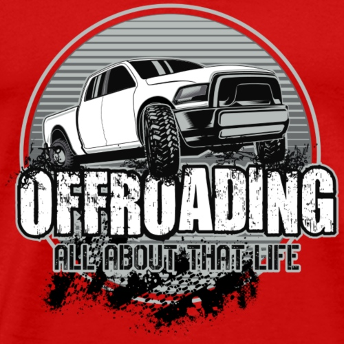 OFFROAD Truck 4X4 - Men's Premium T-Shirt