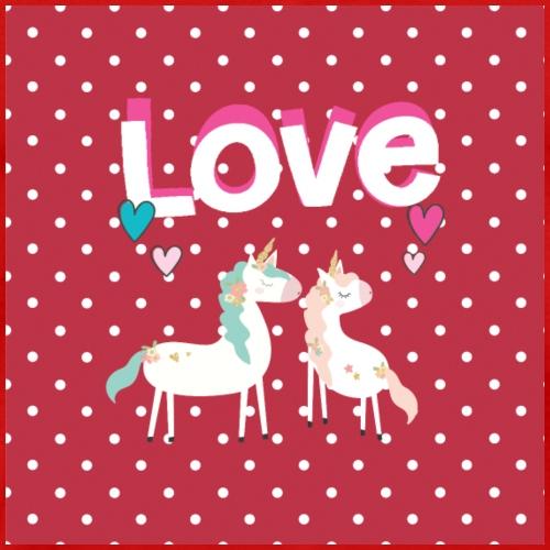Valentine Unicorn lovers - Men's Premium T-Shirt