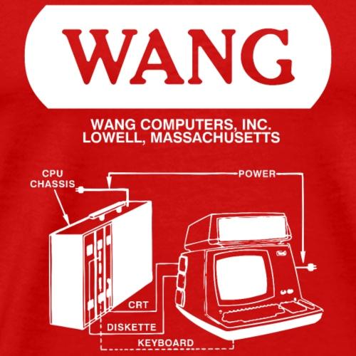 Wang Computers - White - Men's Premium T-Shirt