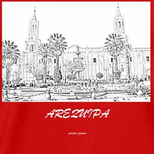 parade ground arequipa - Men's Premium T-Shirt