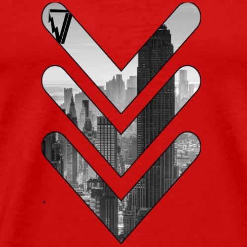 arrow design - Men's Premium T-Shirt
