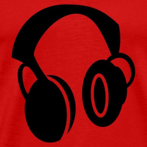 Headphone icon - Men's Premium T-Shirt