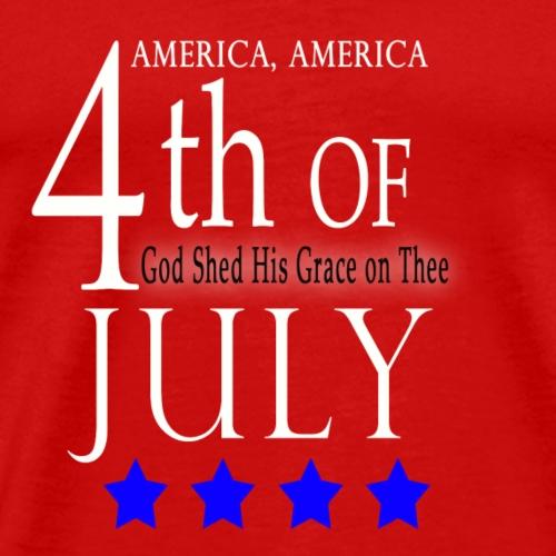 4th of July - T Shirts - Men's Premium T-Shirt