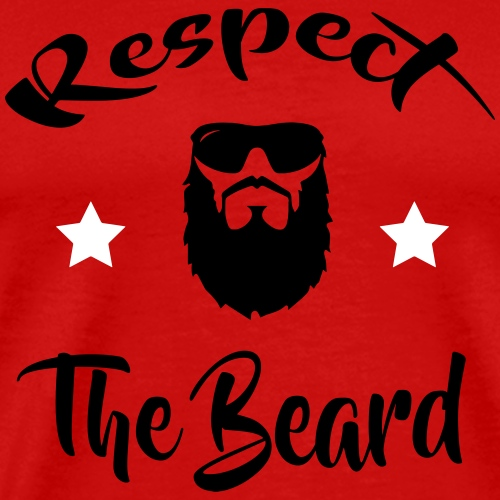 RESPECT THE BEARD - Men's Premium T-Shirt