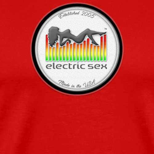Electric Sex White Logo T Shirt Design [Apparel] - Men's Premium T-Shirt