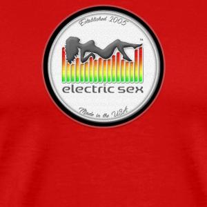 Electric Sex White Logo T Shirt Design [Apparel] - Men's Premium T-Shirt