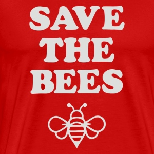 Save the Bees1 - Men's Premium T-Shirt
