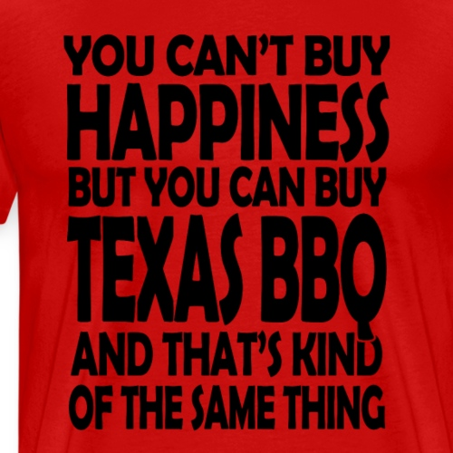TEXAS BBQ - Men's Premium T-Shirt