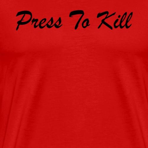 Word Text - Men's Premium T-Shirt