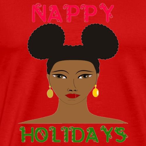 Nappy Holidays Puffs - Men's Premium T-Shirt