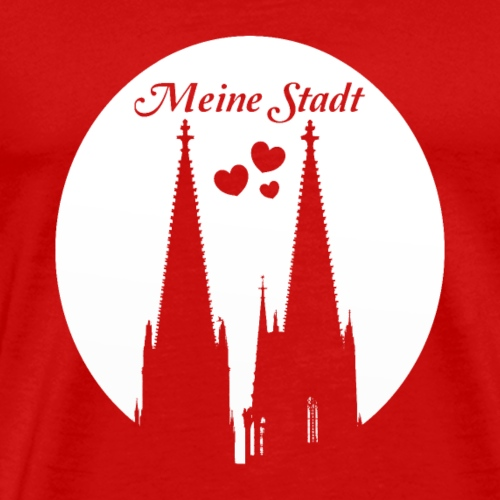 Cologne Church - Men's Premium T-Shirt