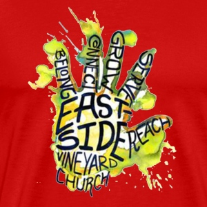 EDM STYLE 5 FINGER DESIGN - Men's Premium T-Shirt