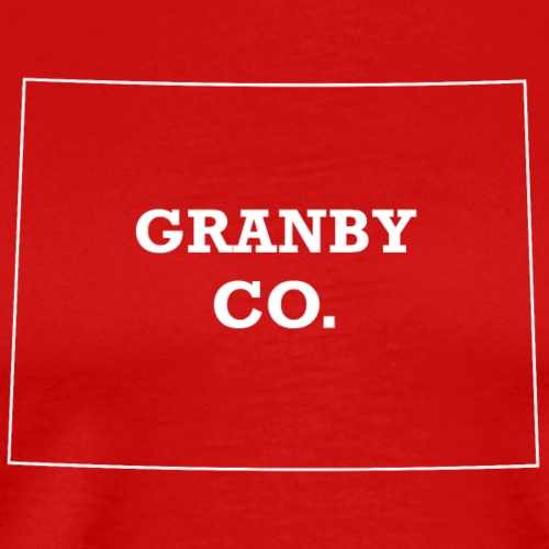 Granby, Colorado - Men's Premium T-Shirt