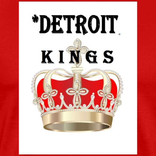 Detroit Kings red black - Men's Premium T-Shirt