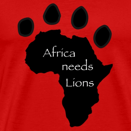 Africa Needs Lions Child - Men's Premium T-Shirt