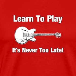Learn Guitar - Men's Premium T-Shirt