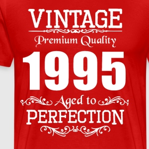 Vintage Premium Quality 1995 Aged To Perfection - Men's Premium T-Shirt
