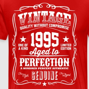 Vintage 1995 Aged to Perfection - Men's Premium T-Shirt