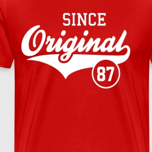 Original Since 1987 - Men's Premium T-Shirt