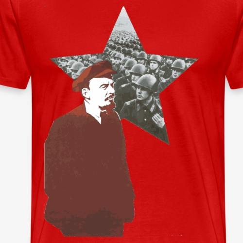 Lenin & Red Army - Men's Premium T-Shirt