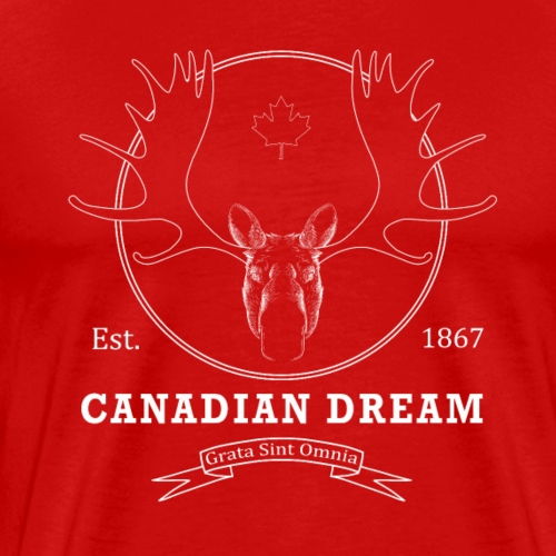 Vintage Canadian Dream - Men's Premium T-Shirt