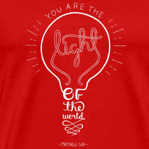 Matthew 5:14 - Men's Premium T-Shirt