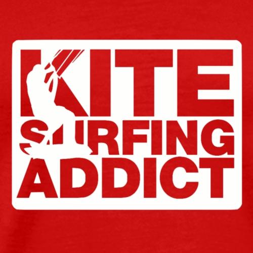 Kitesurfing Addict - Men's Premium T-Shirt