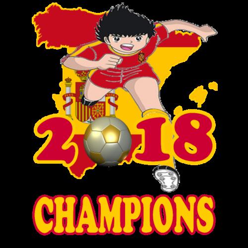 Spain World Cup Champions 2018 - Men's Premium T-Shirt