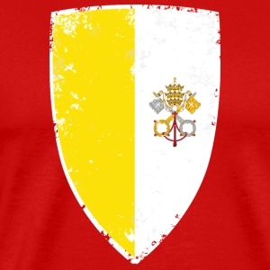Flag of Vatican - Men's Premium T-Shirt