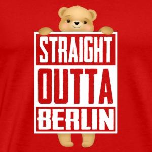 Straight Outta Berlin - Men's Premium T-Shirt