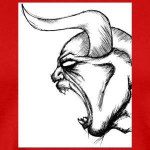 demonic sketch 1 by jdbrockin d3c6z97 - Men's Premium T-Shirt