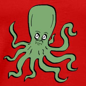 Octopus Green - Men's Premium T-Shirt
