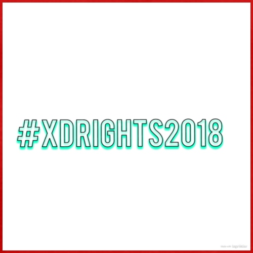 #XDRIGHTS2018 - Men's Premium T-Shirt