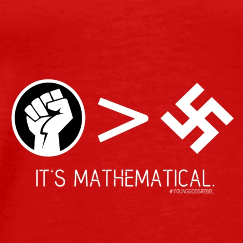 It's Mathematical Black Power Shirt - Men's Premium T-Shirt